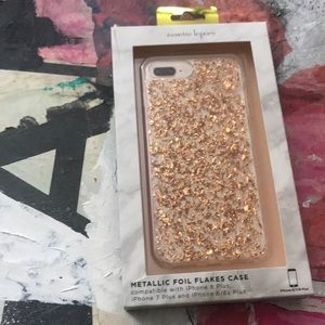 Nanette Lepore Foil Flake Metallic IPhone Case